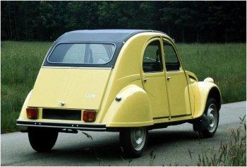 2cv Special 1975 citroengeel