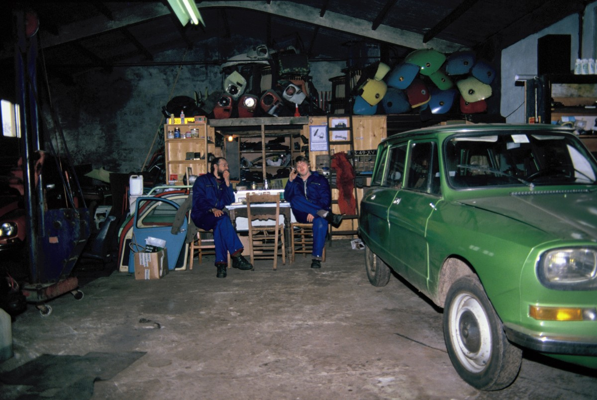 Foto werkplaats Annen met Frans Bost 02