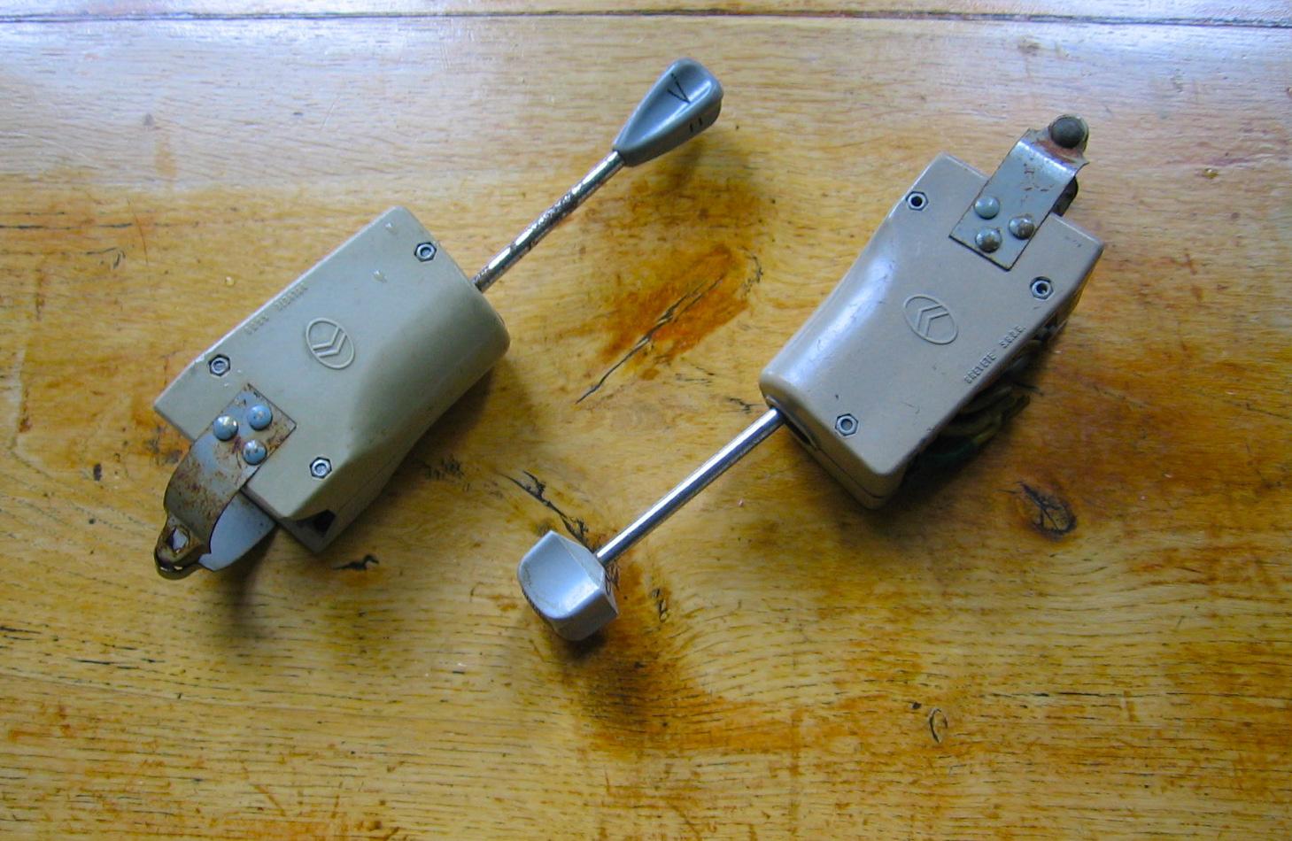 OD0435 verlichtingsschakelaars 2cv en HY, 6 volts