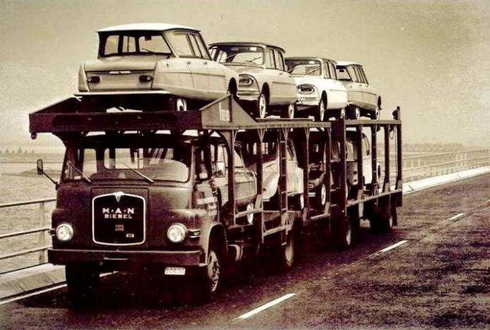 Ami 6 Standaard vrachtwagen Vorst