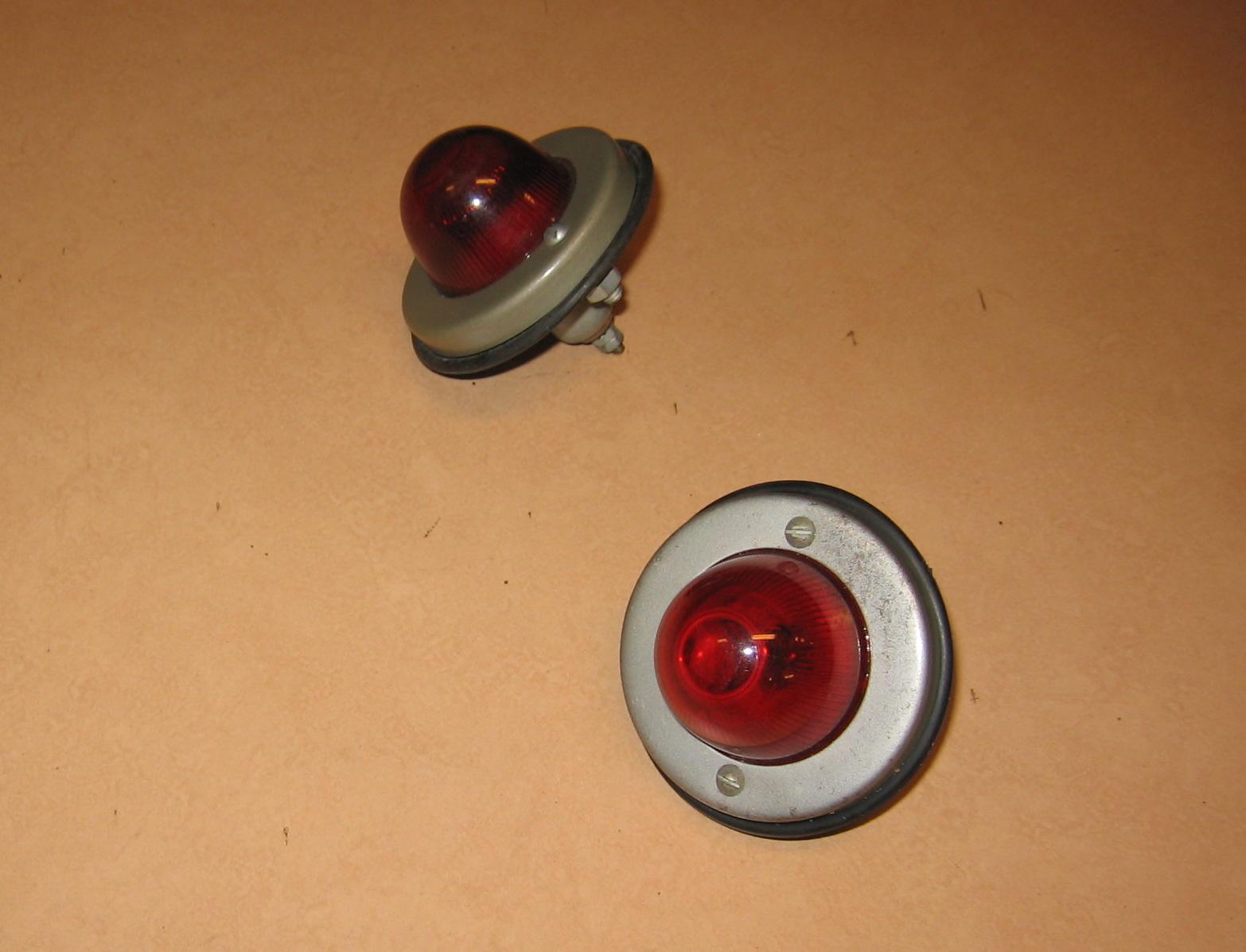 OD0402 Achterlichten compleet, NOS, voor besteleend AU/AZU en HY