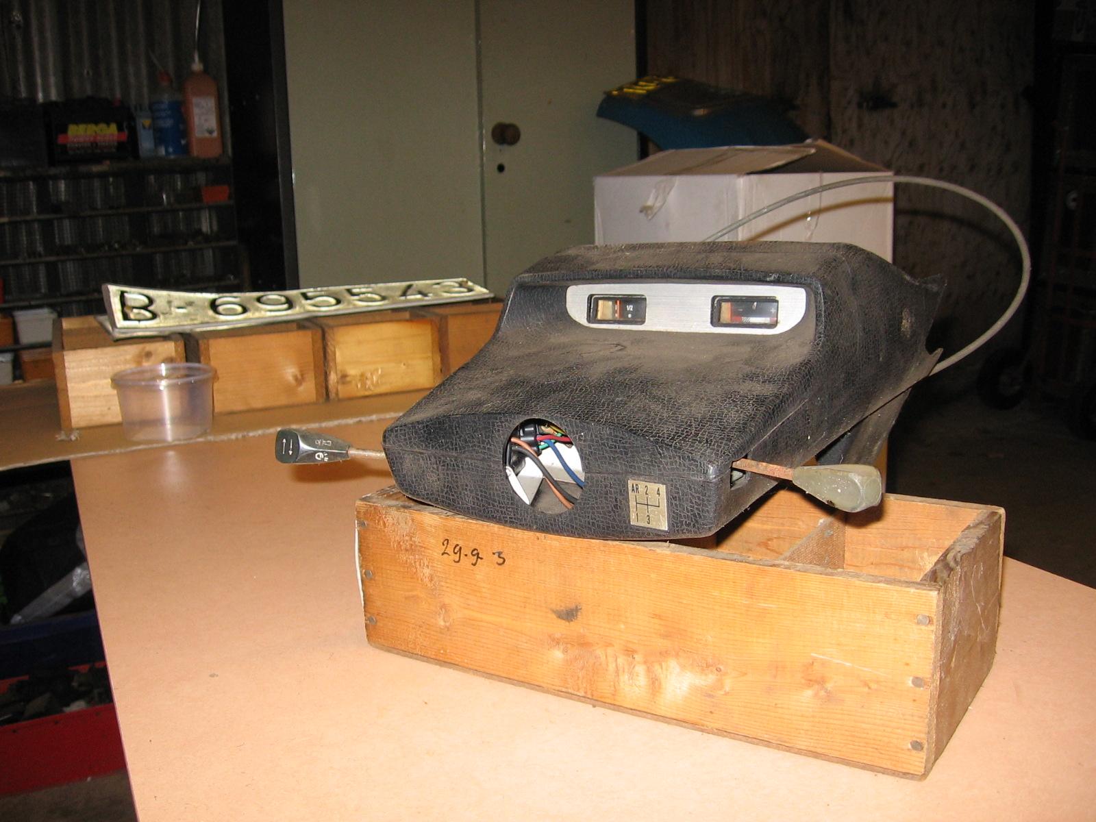 OD0444 dashboard + meters voor Ami 8
