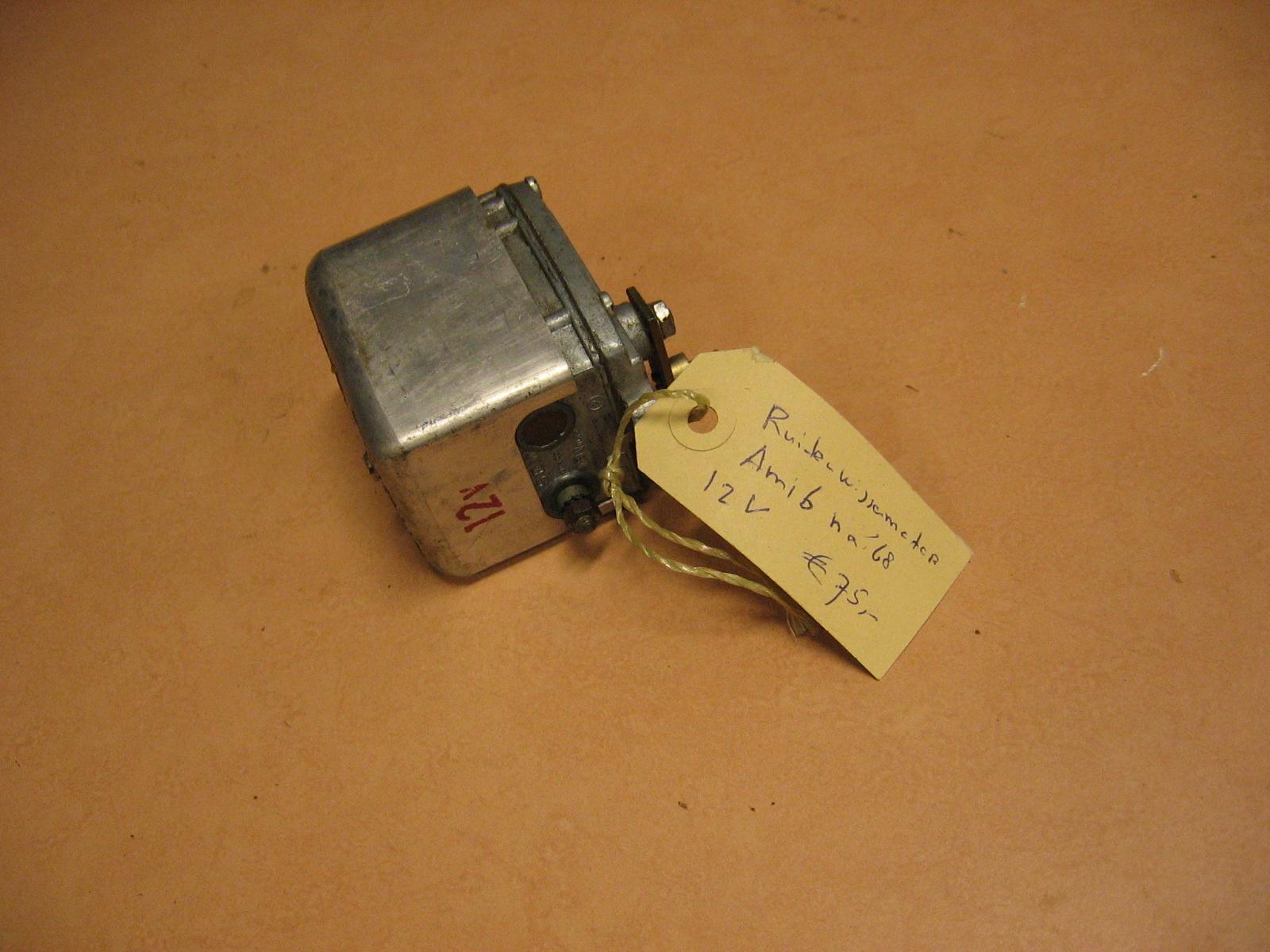 OD0452 ruitenwissermotor voor Ami 6, merk: Marshall, gebruikt