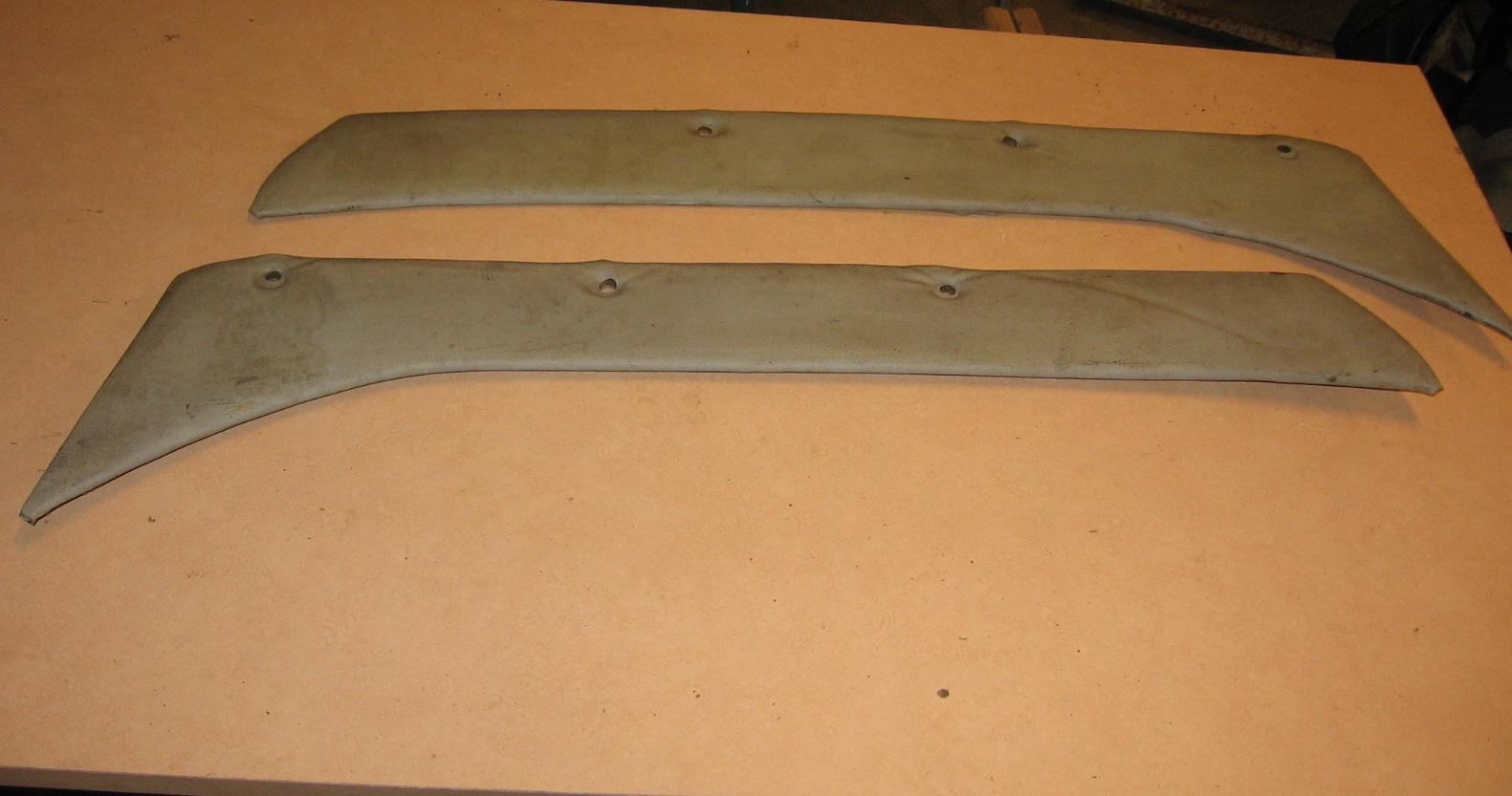 OD0468 afdekbekleding-board met skai achterzijwanden voor Ami 6 (links + rechts)