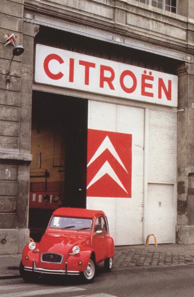 rode eend fabriek Levallois-Perret